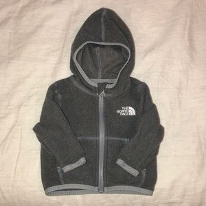 Baby North Face Fleece with Hood